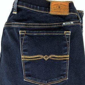 Lucky Brand Dark Wash Charlie Baby Boot size 14/32